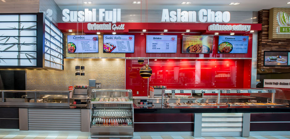 Sushi Fuji Oriental Grill and Asian Chao Chinese Eatery restaurant